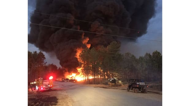 Fuel Line Explosion Prompts Alabama State Of Emergency Promo Image