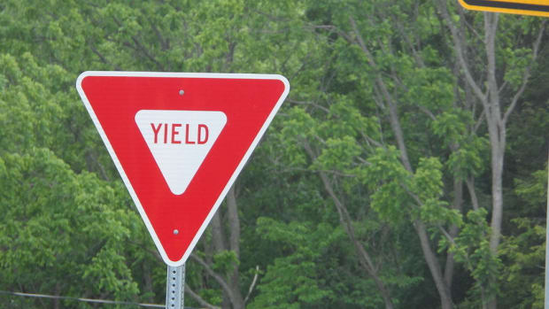 Video Of Teen Taped To Yield Sign Goes Viral (Video) Promo Image