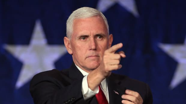 Pence Drops Lobbyists From Trump Transition Team Promo Image