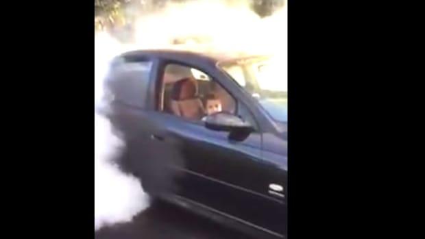 Cops Seize Car After Boy Filmed Doing Burnout (Video) Promo Image