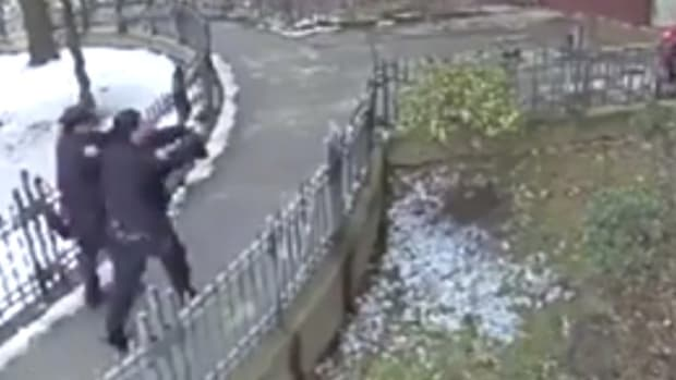 NYPD Cop Shoots At Black Teen 16 Times (Video) Promo Image