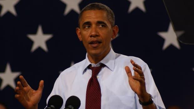 Portrait Of Obama Goes Viral (Photo) Promo Image