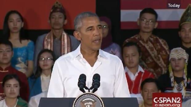 Obama Describes 'Lazy' American Views, Faces Backlash Promo Image