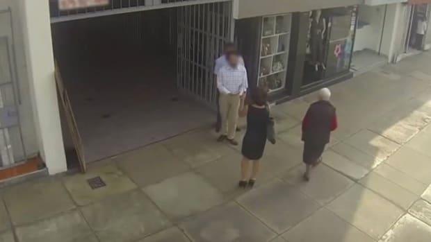 Man Calls Woman 'Piggy,' Gets Big Shock (Video) Promo Image