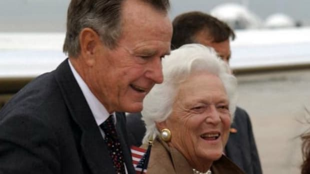 George H. W. Bush Still In Hospital With Chronic Bronchitis Promo Image
