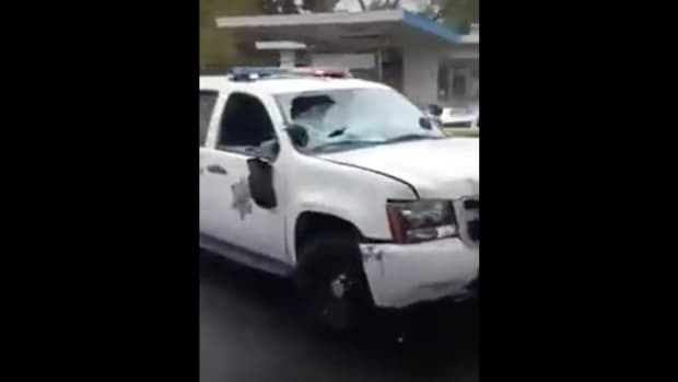 Park Ranger Crashes Patrol Car, Flees The Scene (Video) Promo Image