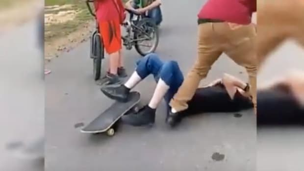 Teen Suckerpunches Boy With Brass Knuckles (Video) Promo Image