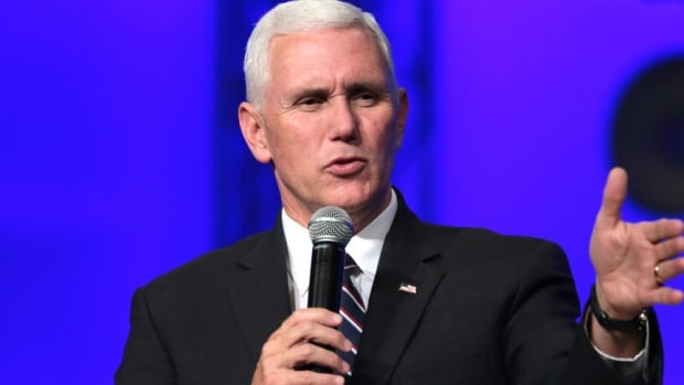 Mike Pence Brings Wounded Vets To Super Bowl (Photos) Promo Image