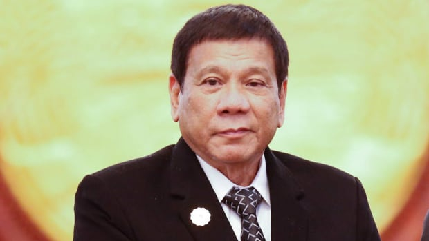 Philippine President Announces 'Separation' From U.S. Promo Image