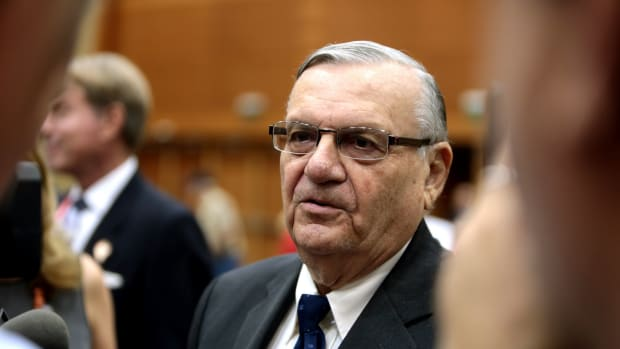 Legal Groups Trying To Block Arpaio Pardon Promo Image