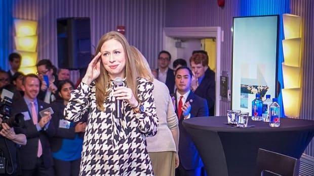 Chelsea Clinton Defends Barron Trump (Photos) Promo Image