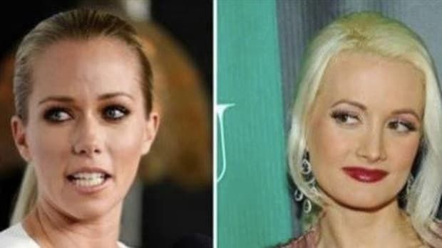 Kendra Wilkinson Defends Late Hugh Hefner, Exposes What Holly Madison Used To Do Promo Image
