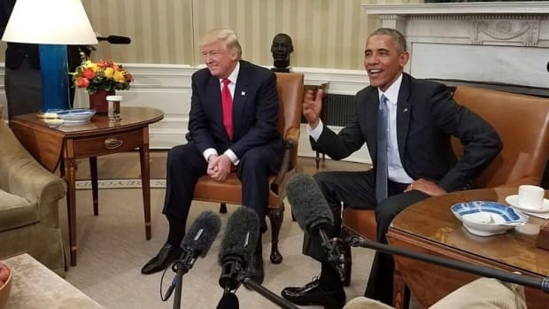 Reports Allege Trump And Obama Haven't Spoken In A Year Promo Image
