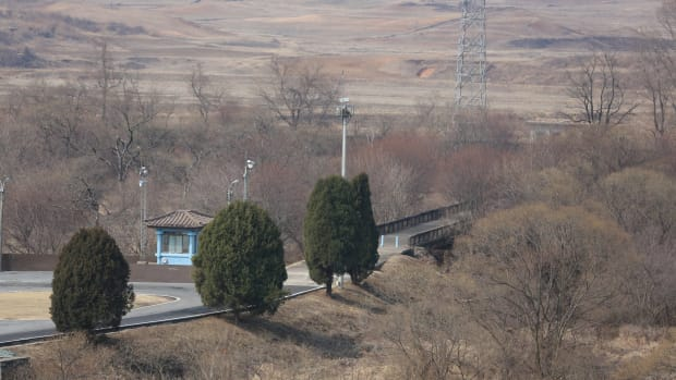 North Korean Defector Rescued By US And South Korea (Video) Promo Image