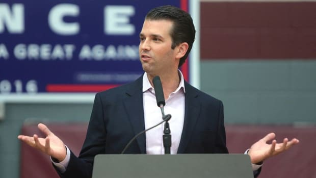 Trump Jr. Asked Russian Lawyer About Clinton Foundation Promo Image