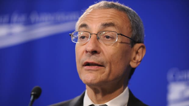 Podesta On Election Defeat: I Lose Sleep 'Every Night' Promo Image