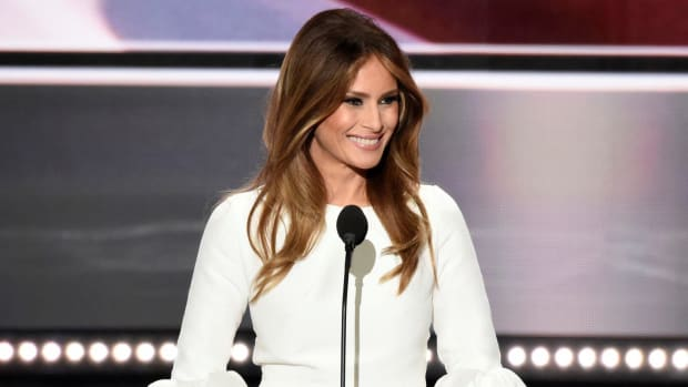 Melania Trump Gets Criticized For Anti-Bullying Speech Promo Image