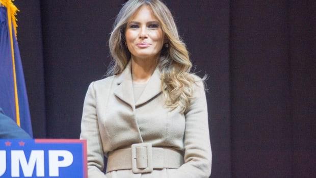 Melania Trump's Wardrobe Choices Raise Questions (Photos) Promo Image