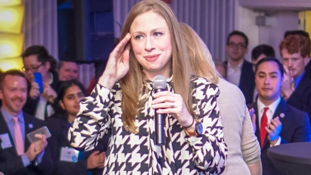 Chelsea Clinton Slams Trump In Letter To Kids  Promo Image