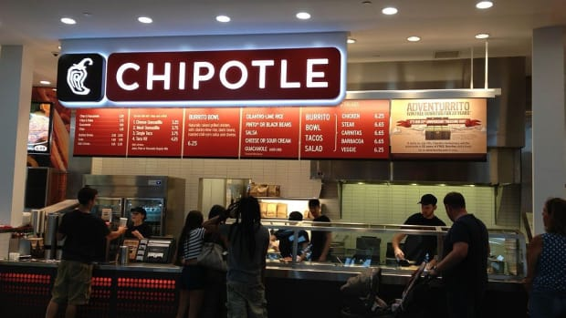 Chipotle's Shares Fall As Stock Is Downgraded Promo Image