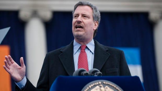 NYC Mayor May Remove Columbus Statue (Photo) Promo Image