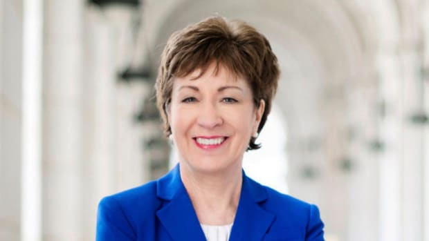 GOP Sen. Collins May Change Vote On Tax Bill Promo Image