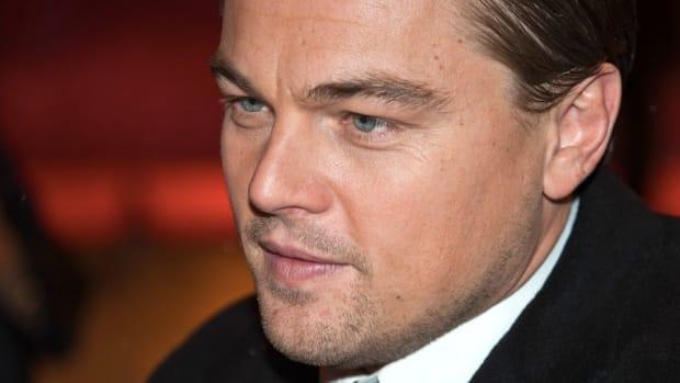 Leo DiCaprio Flies 8,000 Miles For Environmental Award Promo Image