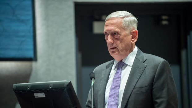Mattis: Diplomacy Is Key To Solving North Korea Crisis Promo Image