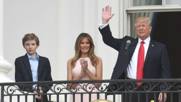 'Modern Family' Producer Brings Barron Into Trump Feud Promo Image