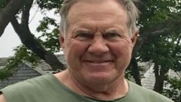 Patriots Coach Bill Belichick's Shirt Sparks Outrage; Was It 'Inappropriate'? (Photo) Promo Image
