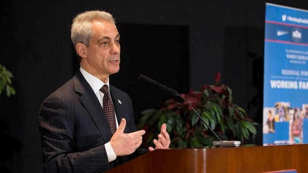 Emanuel Declares Chicago Trump-Free Zone Promo Image