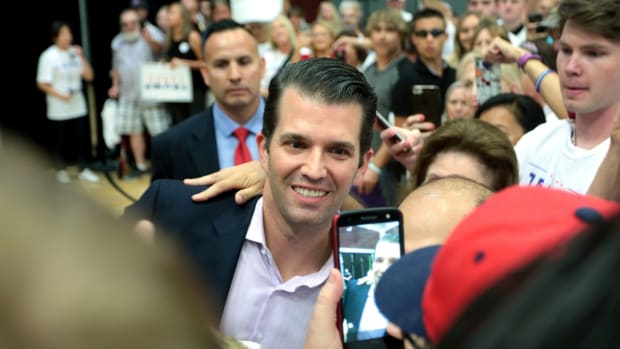 Trump Jr. Met With Kremlin-Linked Man During Campaign Promo Image