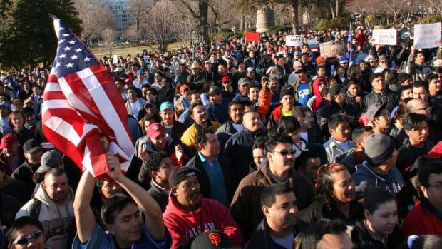 ICE Arrests Up, Deportations Down Under Trump Promo Image
