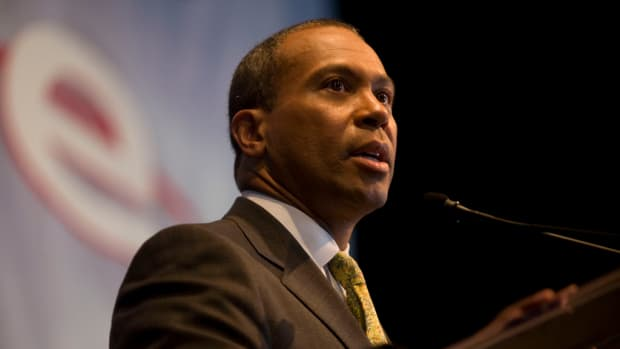 Report: Obama Allies Want Deval Patrick For President Promo Image