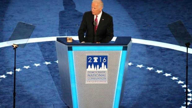Biden Issues Warning Against 'Phony Nationalism' Promo Image