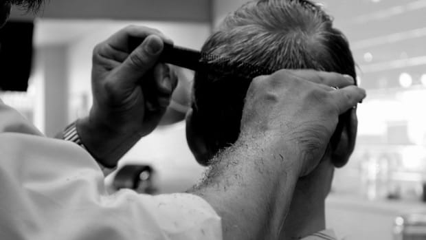 Barber Gives Man 'Three Stooges' Haircut, Snips His Ear (Photos) Promo Image