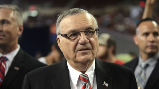 Report: Trump Is Set To Pardon Joe Arpaio Promo Image