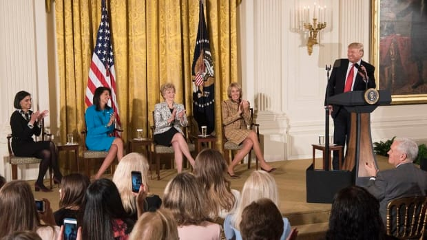 Trump Questions McConnell's Future  Promo Image