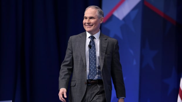 EPA Administrator Spends $25,000 On Soundproof Booth Promo Image