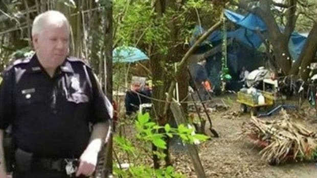 Cop Comes Across Alarming Scene In Woods, Discovers Couple's 22 Year Secret Promo Image