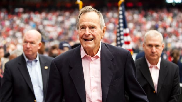 Second Woman Accuses George H. W. Bush of Groping Her Promo Image