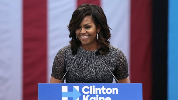Michelle Obama's Church Outfit Sparks Controversy (Photos) Promo Image