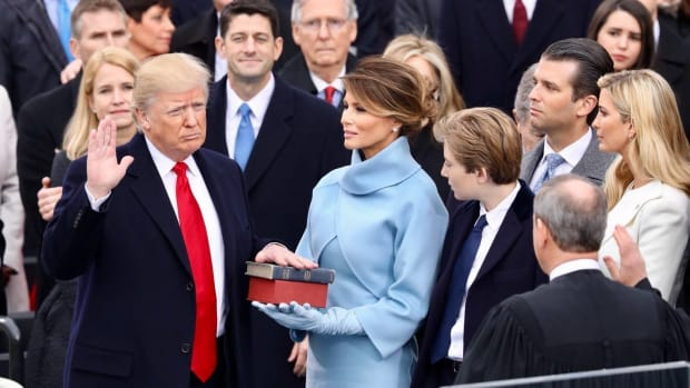Poll: Majority Say Trump Not Behaving Like A President Promo Image