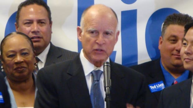 California Governor: Trump Doesn't Speak For All Of US (Video) Promo Image