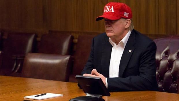 Trump To Donate $1 Million To Hurricane Harvey Efforts Promo Image