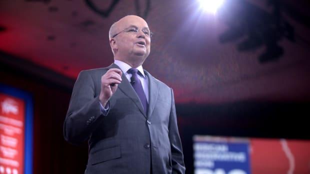 Ex-CIA Director: 'Put Me Down With Kaepernick' Promo Image