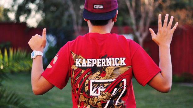 Colin Kaepernick Gets Service MVP Award Promo Image