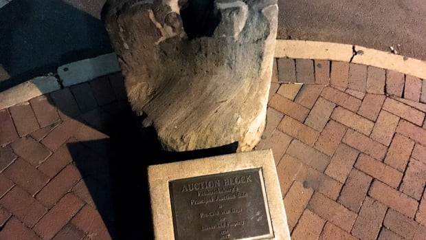 Slave Auction Block Sparks Controversy In Virginia Town Promo Image