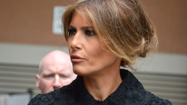 Melania Travels To SOTU Without President Trump (Photo) Promo Image