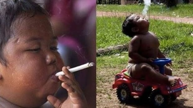 Here's What Happened To The Smoking Toddler (Photos) Promo Image